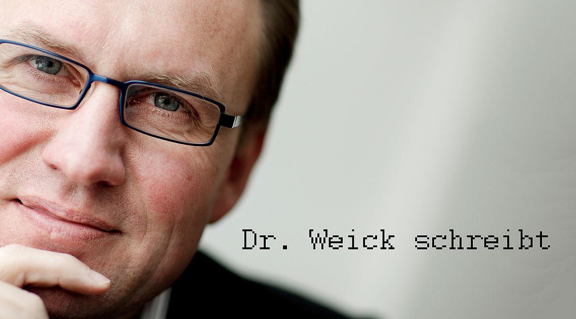 Dr. Clemens Weick schreibt